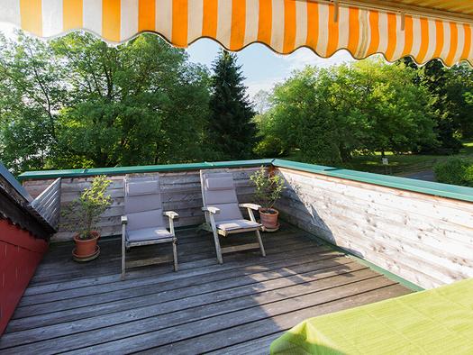 Haus Berndt Zimmer 7 Dachterrasse (© www.studio46.at)
