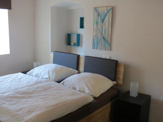 Doppelbettzimmer in der Suite