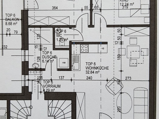 Plan of the holiday apartment. (© Wienerroither)