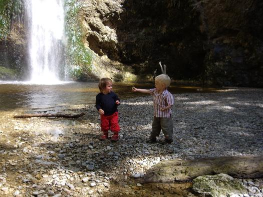 Naturdenkmal Plötz - Wasserfall. (© Tourismusverband Ebenau)