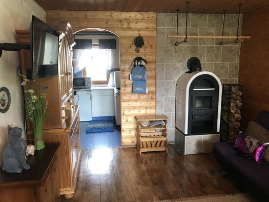 Wohnzimmer mit Sat-TV (© Haus Stadlau)