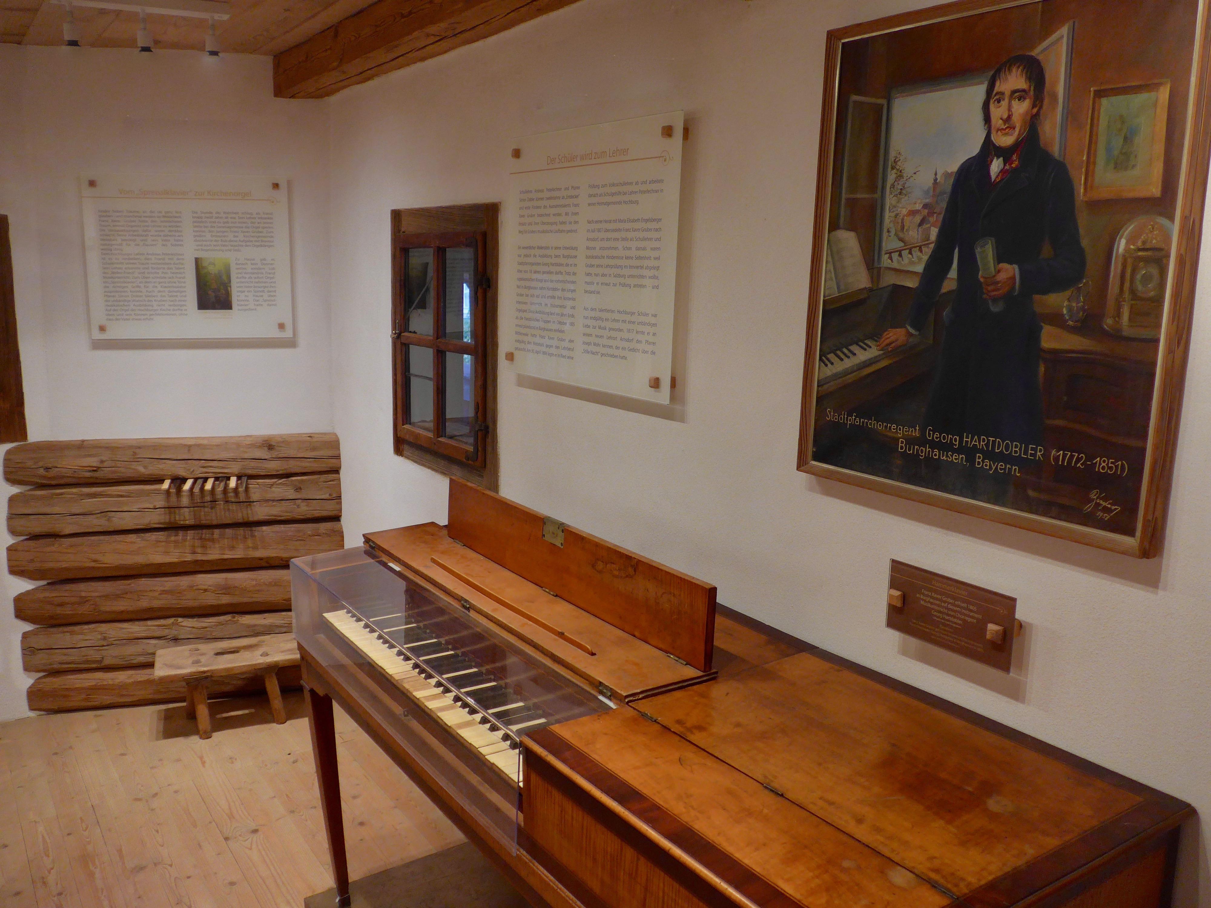200 Jahre Stille Nacht – Franz Xaver Gruber und seine Zeit