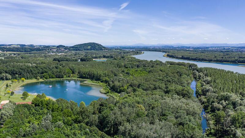 Flusslandschaft Steyregg