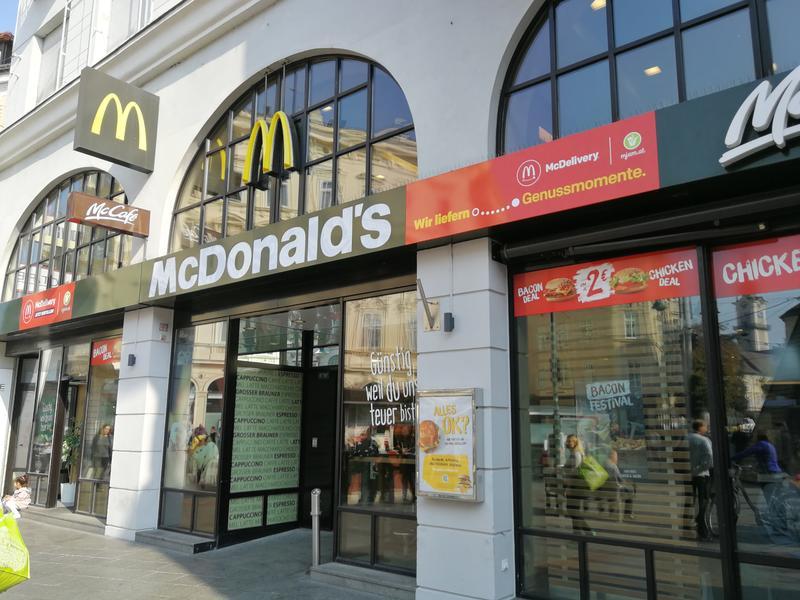 McDonald's Taubenmarkt