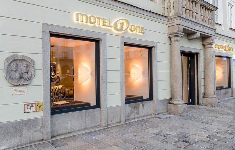 Motel One Linz Aussenansicht