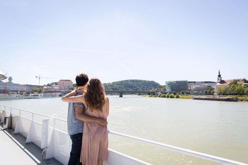 Schifffahrt in Linz