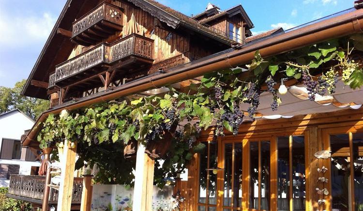 Schweizerhof vom Terrasse (© Schweizerhof am See)