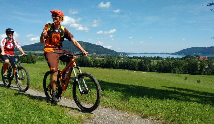 Montainbike Tour zu zweit %c2%a9 Bettina Ratzinger (© Bettina Ratzinger)