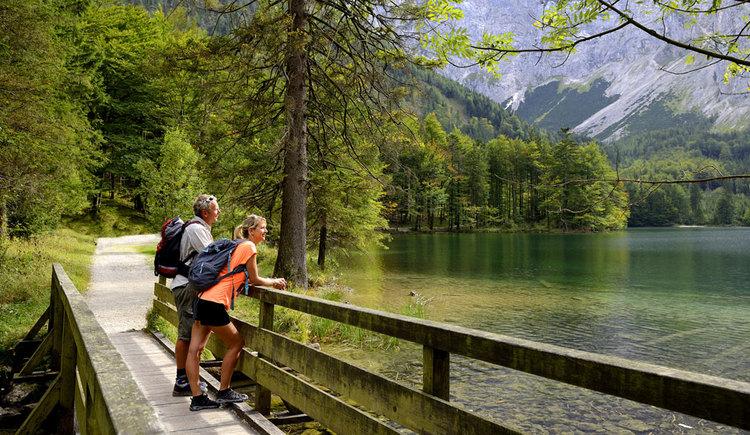 Wandern am Langbathsee Etappe 2 (© m)