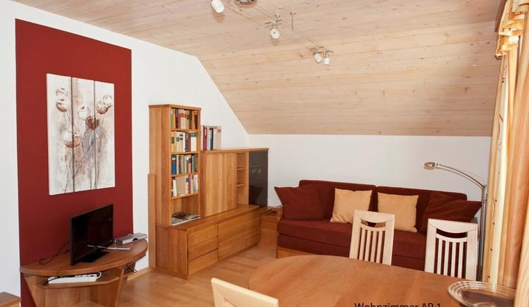 Wohnzimmer Appartement 1 (© Kronberger)