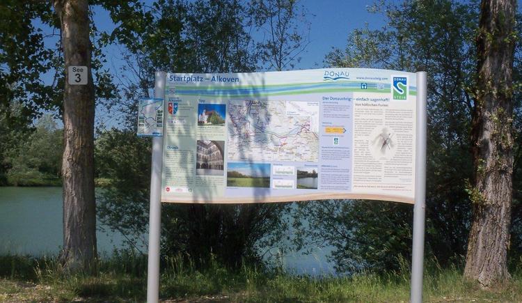 Start unserer Donau-Runde bei den Radkovsky-Teichen (© Raimund Lindinger)
