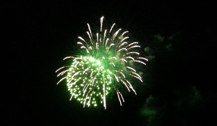 Feuerwerk. (© Tourismusverband MondSeeLand)