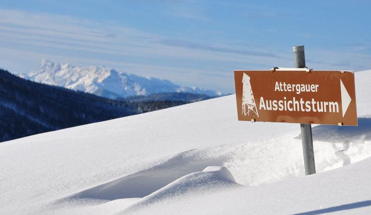 Attergauer Aussichtsturm. (© Herbert Benedik)