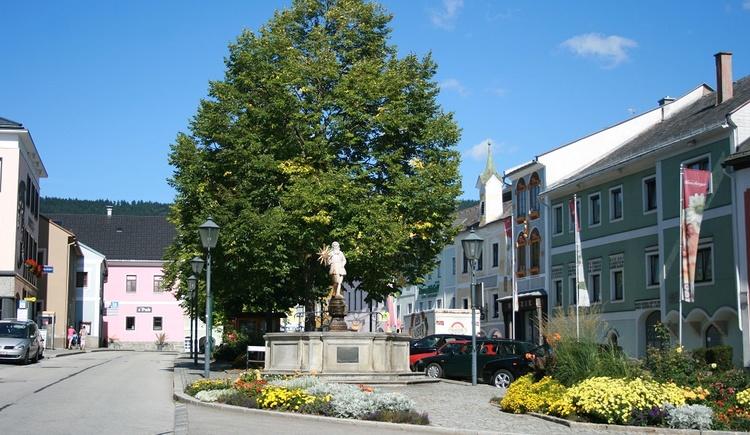 Marktplatz Aigen-Schlägl  (© Ferienregion Böhmerwald)