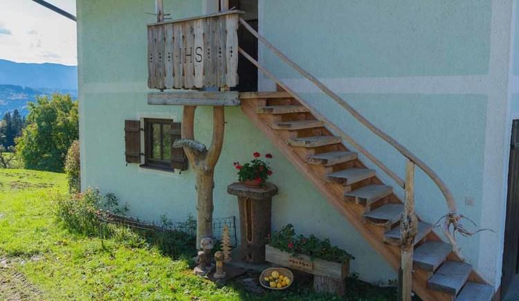 Wohnung Traumblick Stiegenaufgang