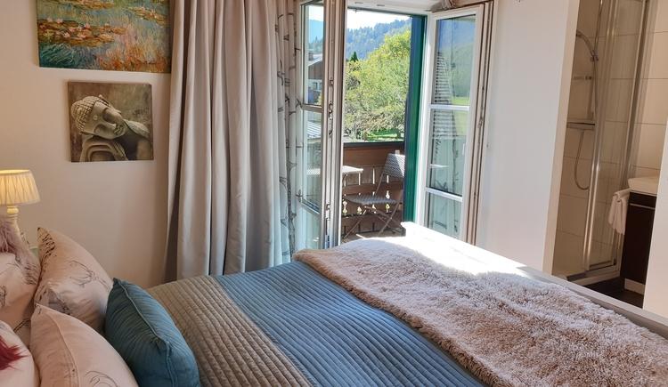 FeWo 1 - Schlafzimmer (© Landhaus Osborne)