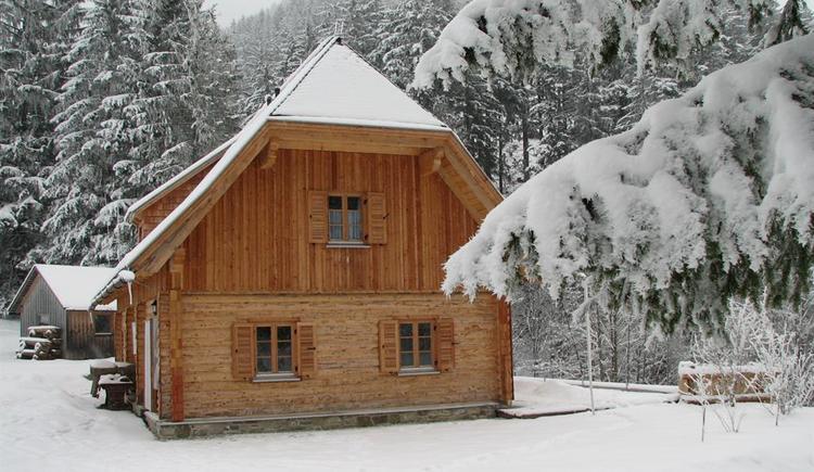 Hengstpasshütte im Winter (© NP Kalkalpen)