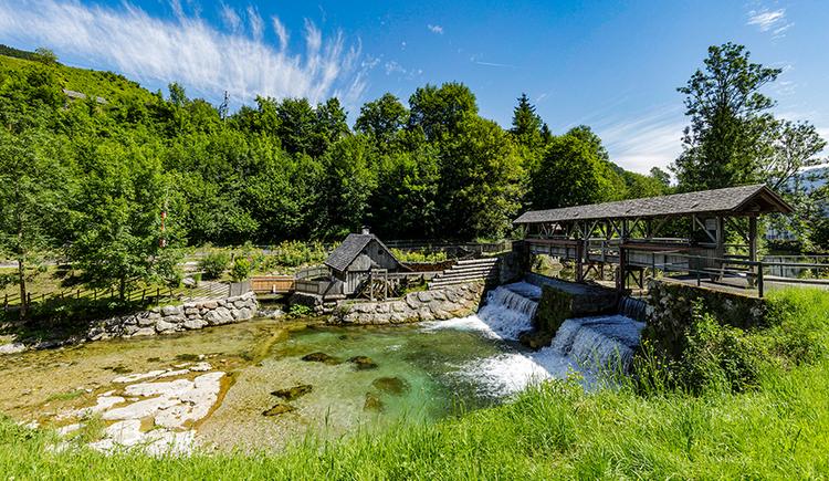 Mühle beim Freilichtmuseum Katzensteinermühle. (© Neubauer Konrad)