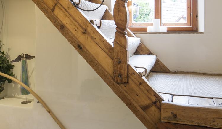 Baroque stairs in the Hallstatt Hideaway (© Hallstatt Hideaway)