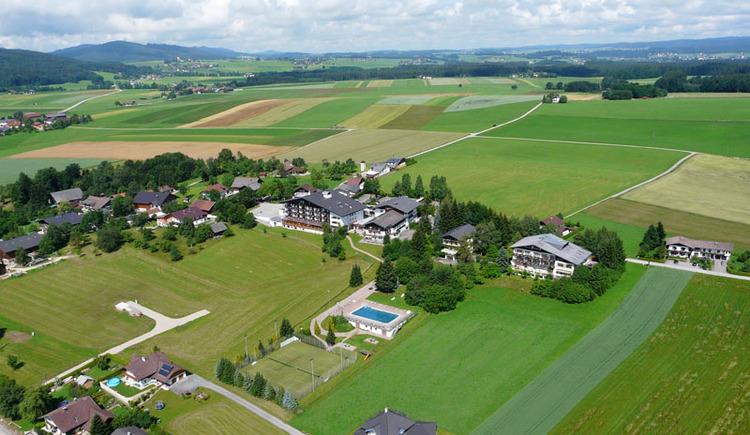 Luftaufnahme Hotel Lohninger-Schober
