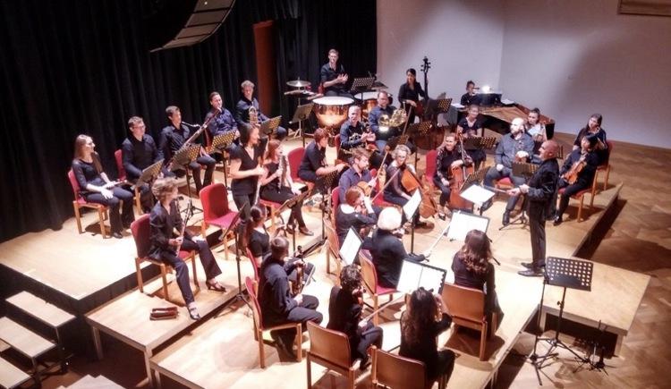 Die Sinfonietta da Camera Salzburg spielte auch schon im vorigen Jahr in Hallstatt.