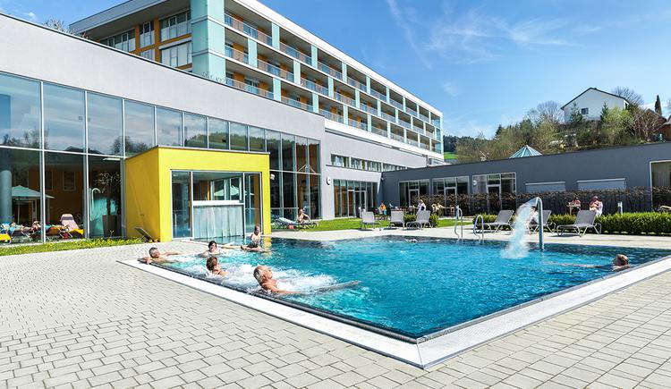 hotel-lebensquell-im-sommer (© Lebensquell Bad Zell)