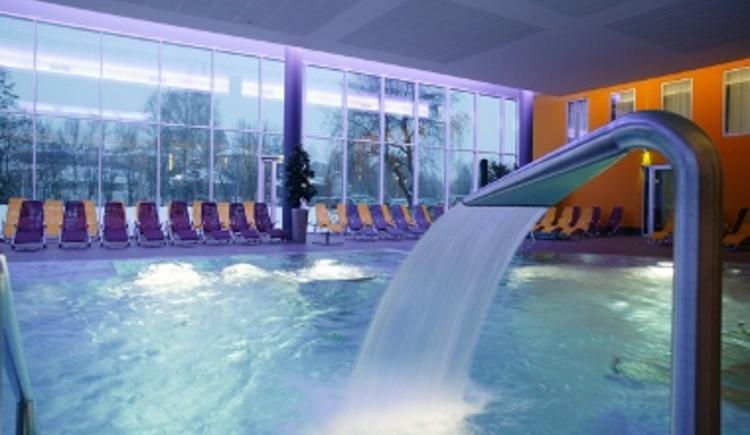 Wasserstrahl (© Hotel Lebensquell)
