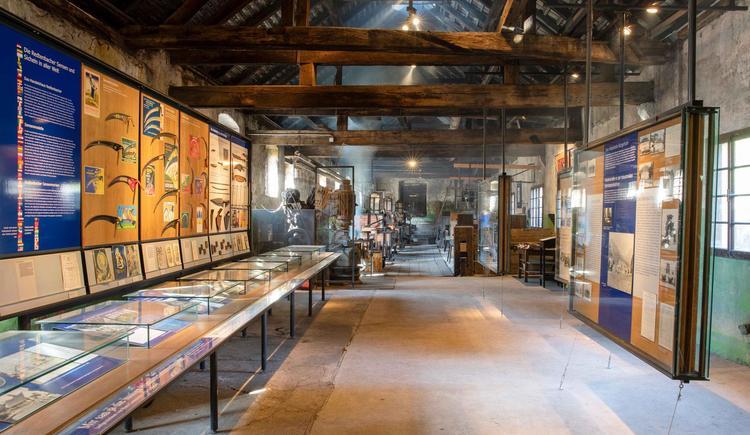 Museum Geyerhammer Ausstellung (© Historicum Scharnstein, Foto Monika Löff)