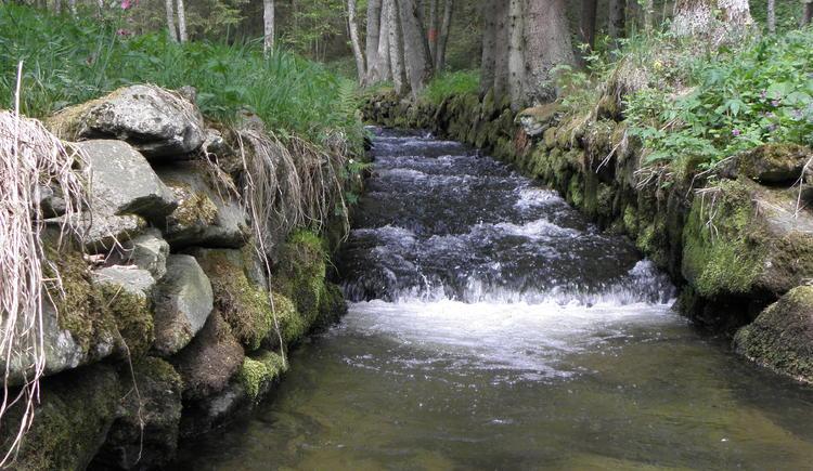 Schwarzenbergischer Schwemmkanal (© Ferienregion Böhmerwald)
