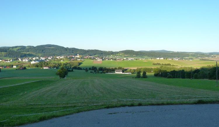 In Hintenberg sehen Sie schon Ihr nächstes Etappenziel, Ulrichsberg.