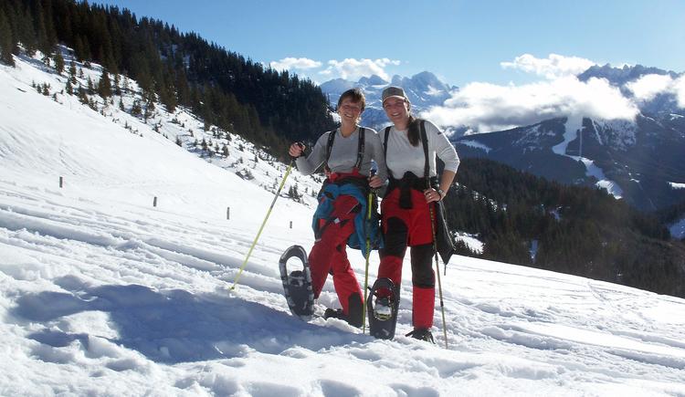 Schneeschuhwandern in Gosau. (© Landhaus Koller Gosau)