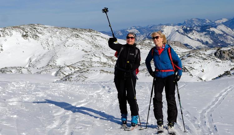 Skitourengeherinnen (© Rudolf Kirth)