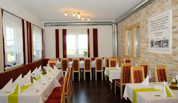 Gasthof Rohrmoser Sauerei, Waldzell, Nebenzimmer. (© Innviertel-Tourismus)