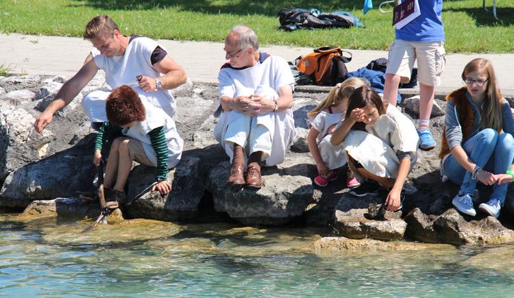 Blick 6000 Jahre zurück - Pavillonführung in Seewalchen am Attersee