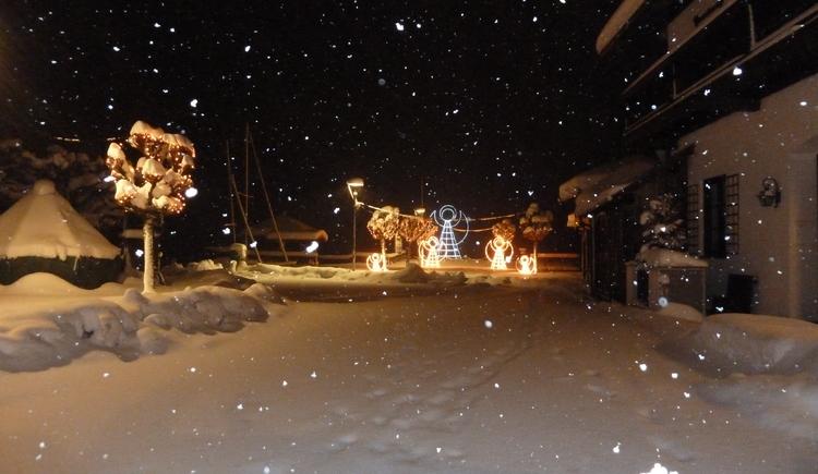 Zentrum von Unterach im Winter. (© TVU)