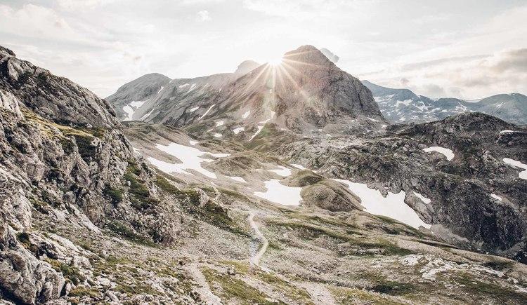 Der Dachstein und seine Ausläufer haben die Regionen über tausende von Jahren geformt. (© © Dachsteinrundwanderweg © ladyvenom)
