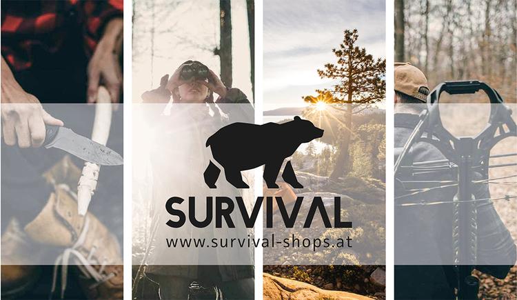 Logo Survival Shop & Versand in St. Georgen im Attergau nahe Attersee.