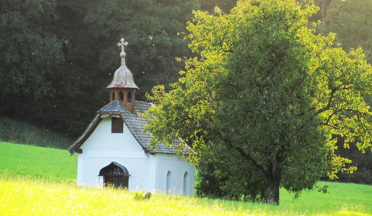 Kapelle an der Erlachmühle. (© TVB Mondsee-Irrsee)