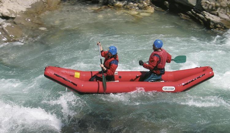 Rafting auf der Steyr Hotel Garni Wallner (© Wallner)