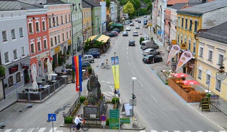 Stadtplatz Altheim (© Ladislav Vorich)