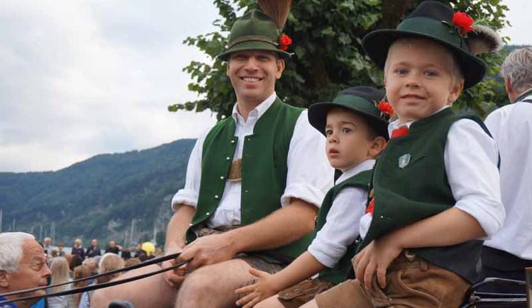 Alljährlich findet in St. Gilgen das Kaiserfest statt. (© WTG)