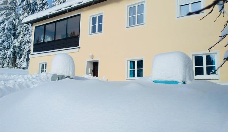 Haus im Winter (© Privat)