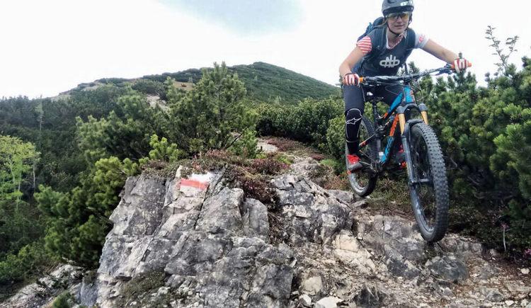 Montainbike Tour am Berg %c2%a9 Bettina Ratzinger (© Bettina Ratzinger)