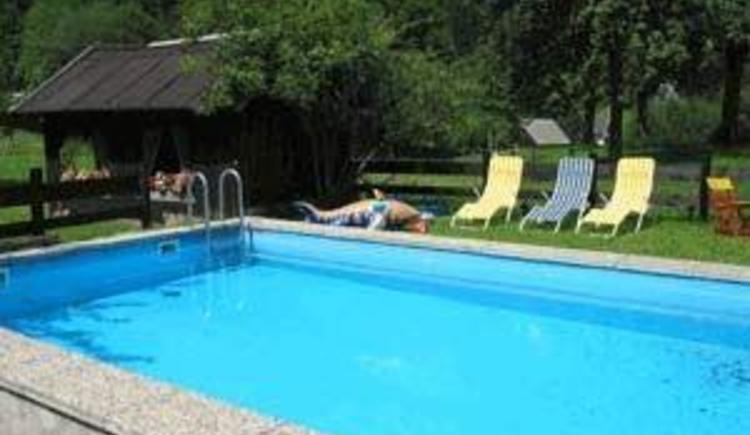 Unser Pool (© Popp)