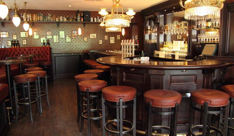gemütliches Ambiente in den Räumlichkeiten der Bar