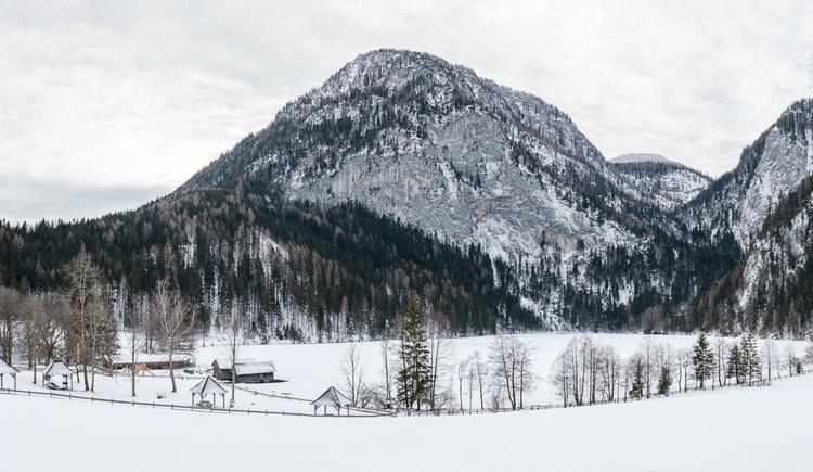 Gleinkersee im Winter (© TVB Pyhrn-Priel/Florian Lierzer)