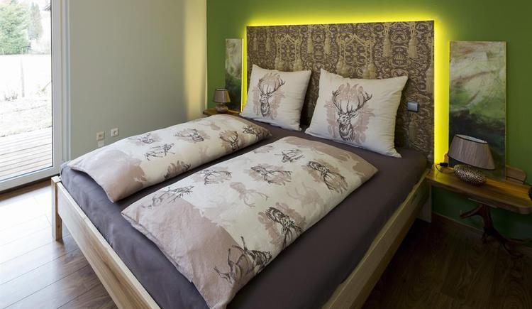 Schlafparadies in der Ferienwohnung Hirscherl (© Kornek)