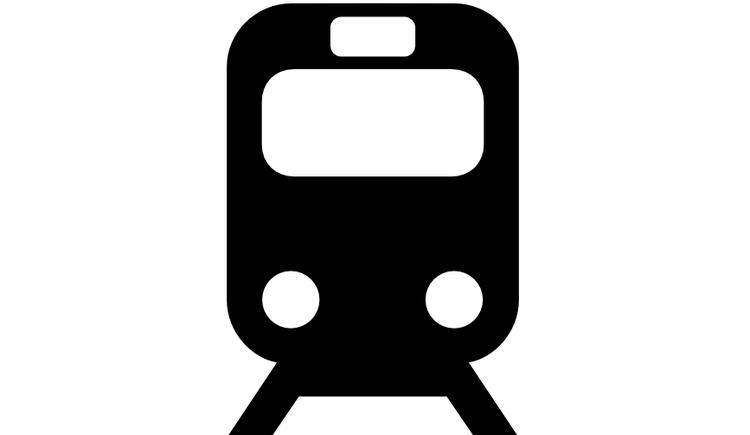 Piktogramm für Bahnhof