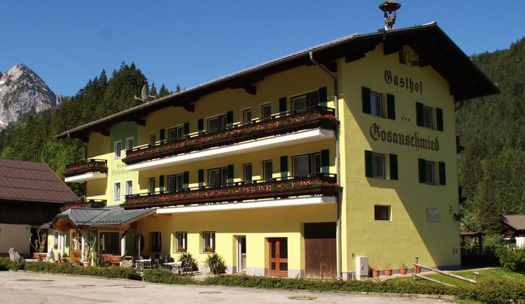 Der Gasthof Gosauschmied von außen. (© Hotel Gasthof Gosauschmied)