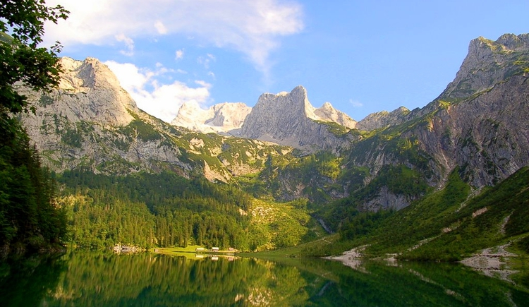 Wanderung zum Hinteren Gosausee. (© Ehrenfried Vierthaler)